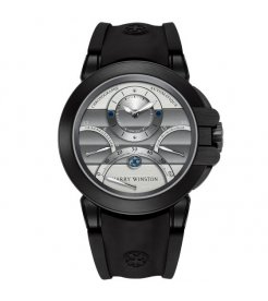 Harry Winston [NEW] Ocean Triple Retrograde Chronograph automatic zalium black DLC OCEACT44ZZ007