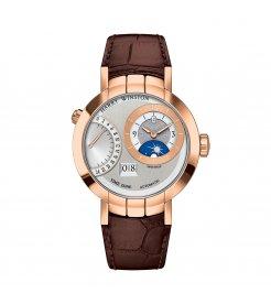 Harry Winston [NEW] Premier Excenter Time Zone automatic 18K rose gold PRNATZ41RR001