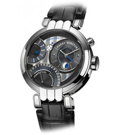 Harry Winston [NEW] Premier Perpetual Calendar automatic 18K white gold PREAPC41WW014