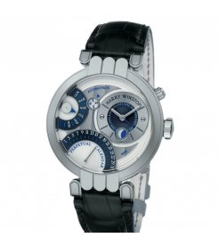 Harry Winston [NEW] Premier Perpetual Calendar automatic 18K white gold PREAPC41WW015