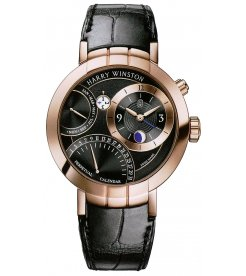 Harry Winston [NEW] Premier Perpetual Calendar limited edition automatic 18K rose gold PRNAPC41RR001
