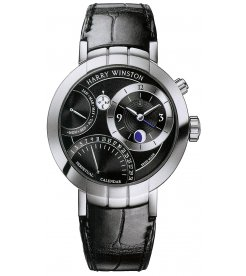Harry Winston [NEW] Premier Perpetual Calendar limited edition automatic 18K white gold timepiece PRNAPC41WW001