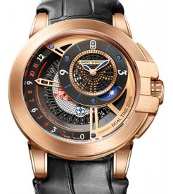 HARRY WINSTON [全新] OCEATZ44RR011 OCEAN DUAL TIME (Retail:US$37,500)