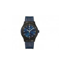 Hublot [NEW] 511.cm.7170.lr Ceramic Blue Classic Fusion Automatic 45mm Mens