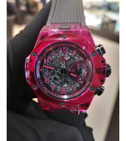 Hublot [NEW][LIMITED 250] Big Bang UNICO Red Sapphire 411.JR.4901.RT (Retail:EUR 73000)