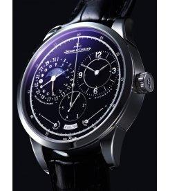 JAEGER LECOULTRE [NEW] Duometre A Quantieme Lunaire Black Dial White Gold MenS Q6043570 (Retail:HK$360,000)