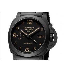"Panerai [NEW] PAM 438 ""Tuttonero"" GMT Ceramic Watch (Retail:HK$111,500)"