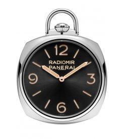 PANERAI [NEW] POCKET WATCH 3 DAYS ORO BIANCO 50mm PAM 529 (Retail:HK$510,300)