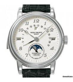 Patek Philippe [MINT] White Gold Perpetual Calendar Minute Repeat Tourbillon 5016G