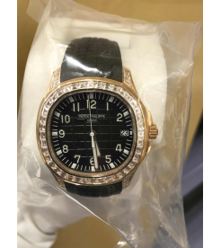 Patek Philippe [NEW] 5167/300R-010 Aquanaut Rose Gold Baguette Diamonds - SOLD!!