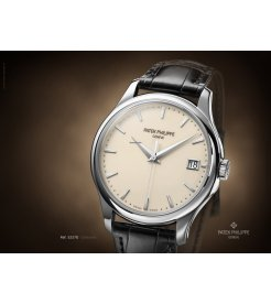 Patek Philippe [NEW] Calatrava White Gold Mens 5227G-001 (Retail:HK$259,700)