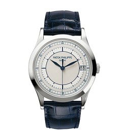 Patek Philippe New Calatrava White Gold Mens 5296G (Retail: HK$202,000)