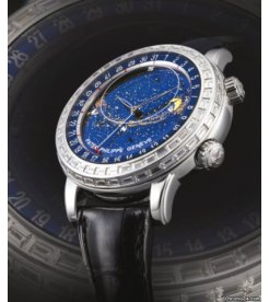Patek Philippe [NEW] [COLLECTABLE] Rare Celestial 44mm White Gold 6103G