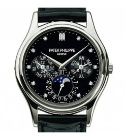 Patek Philippe [NEW] Grand Complications Platinum Black 5140P-013 (Retail:HK$806,300)