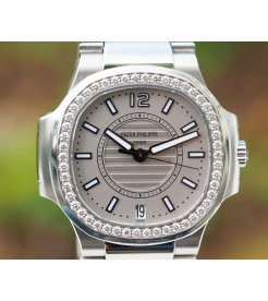 Patek Philippe [NEW] Ladies Nautilus 7008/1A-011 Silver Dial - SOLD!!
