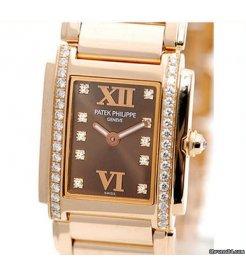 Patek Philippe [NEW] Ladies Twenty~4 Wristwatch Rose Gold 4908/11R-010 (Retail:HK$293,700)