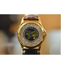 Patek Philippe [NEW-OLD-STOCK-2013'] 5131J World Time Yellow Gold