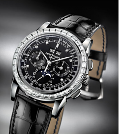 Patek Philippe [NEW] Perpetual Calendar Chronograph Platinum 5971P Watch