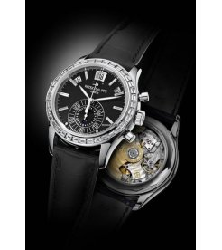 Patek Philippe [NEW][RARE] Annual Calendar Chronograph 5961P-010 Black Dial Watch