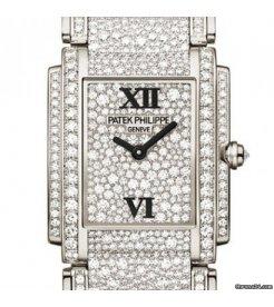 Patek Philippe [NEW] White Gold Ladies Twenty~4 Medium 4910/52G (Retail:HK$1,992,100)