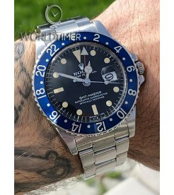 "Rolex Vintage 1675 GMT-Master ""Blueberry"" MKII SS 5.1 Serial Watch"