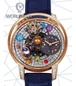 Jacob & Co.捷克豹 [NEW] Astronomia Solar Baguette Jewellery Planets Zodiac AS910.40.BD.BD.A (Retail:HK$7,800,000)