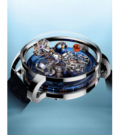 Jacob & Co. 捷克豹 [NEW][LIMITED 18 PIECE] Astronomia Sky Tourbillon White Gold AT110.30.AA.SD.A (Retail:HK$5,104,000)