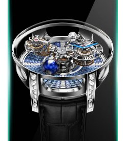 Jacob & Co. 捷克豹 [NEW][UNIQUE] Astronomia Tourbillon Baguette Arlequino AT800.30.BD.UA.B