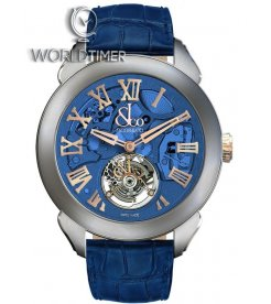 Jacob & Co. 捷克豹 [NEW][LIMITED 36 PIECE] Palatial Flying Tourbillon Hours & Minutes Blue PT520.24.NS.QB.A (Retail:HK$859,100)