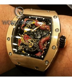 Richard Mille RM 057 Red Dragon Jackie Chan Tourbillon Watch - RESERVED