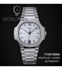 Patek Philippe [NEW] Nautilus Ladies Steel White Dial 7118/1200A