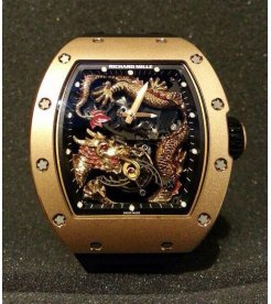 Richard Mille [NEW][LIMITED 1 PC] RM 057 Dragon Jackie Chan Tourbillon - SOLD!!