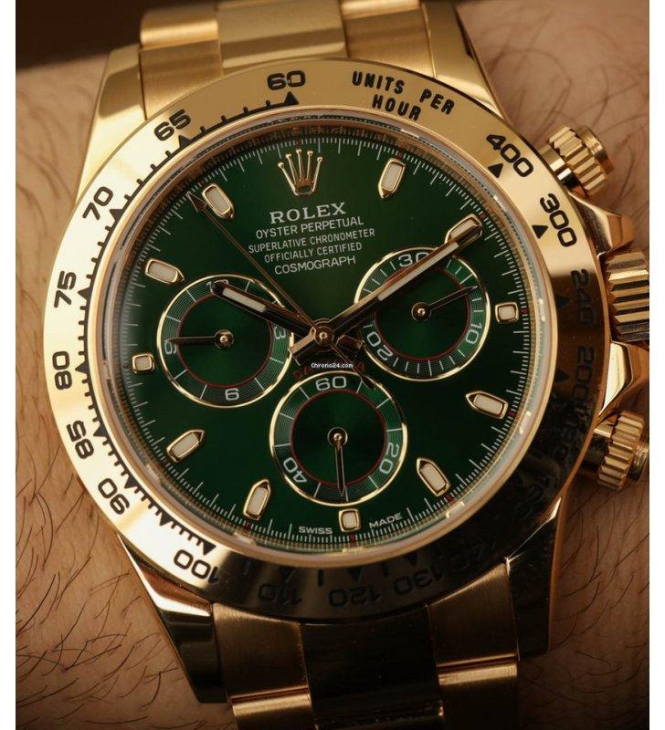 premium selection b6047 d3b57 所有手錶: Rolex [NEW] 綠色地通拿Cosmograph Daytona ...