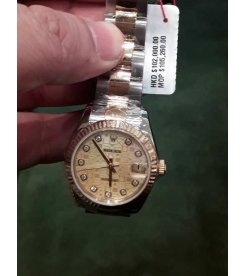 Rolex NEW-全新 31mm Midsize Datejust 178273 Rolex Anniversary Dial Watch (Retail:HK$102,000)