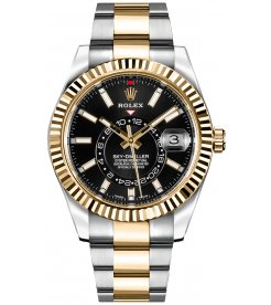 Rolex [NEW] Sky-Dweller 326933 Black Dial Mens Watch