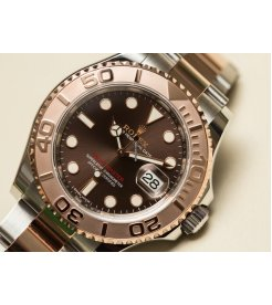 Rolex [NEW] Yacht-Master Stainless Steel Everose Gold Bezel 40mm 116621 (Retail:HK$109,500)