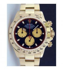 ROLEX [NEW] YG Daytona Black Paul Newman 116528 (Retail:HK$248,100)