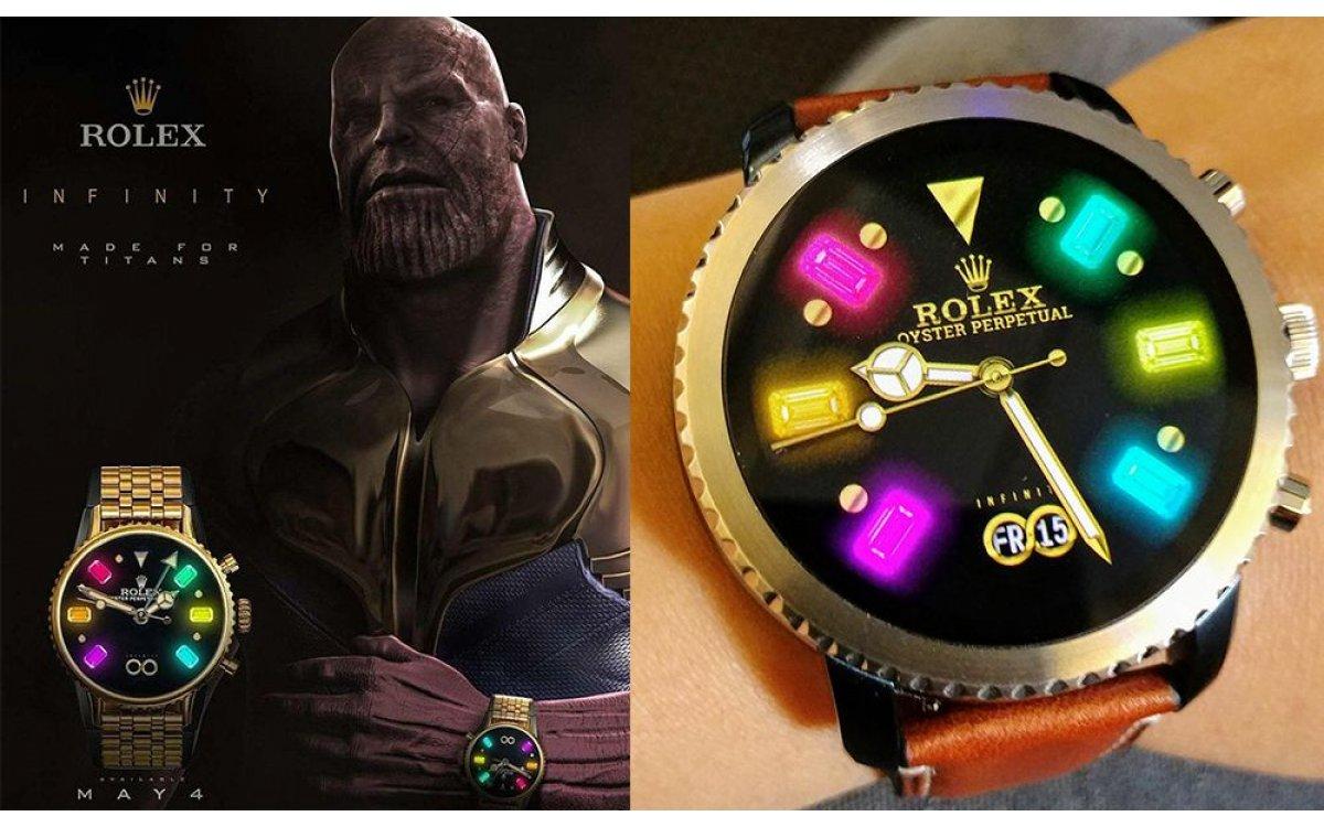 Thanos無限手套進擊Rolex 三大客製寶石名錶